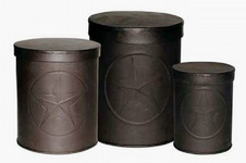 Canister Set with the Texas Lone Star