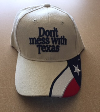Don't Mess with Texas Tan Cap