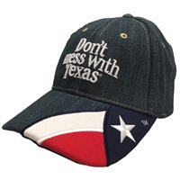 Don't Mess with Texas Denim Cap