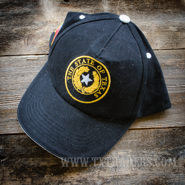Texas Cap with State of Texas Seal Patch