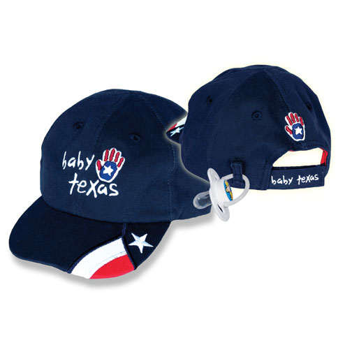 Texas Baby Cap Navy Blue