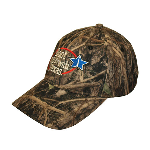 Don't Mess with Texas Camo Cap