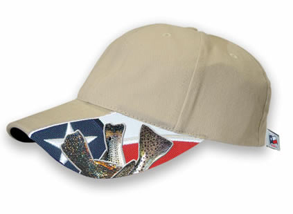 Texas Saltwater Fishing Cap