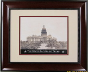 Framed Print - Texas State Capitol