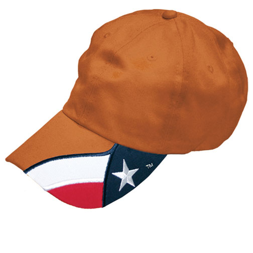 Cap in Carhart Orange Texas Flag