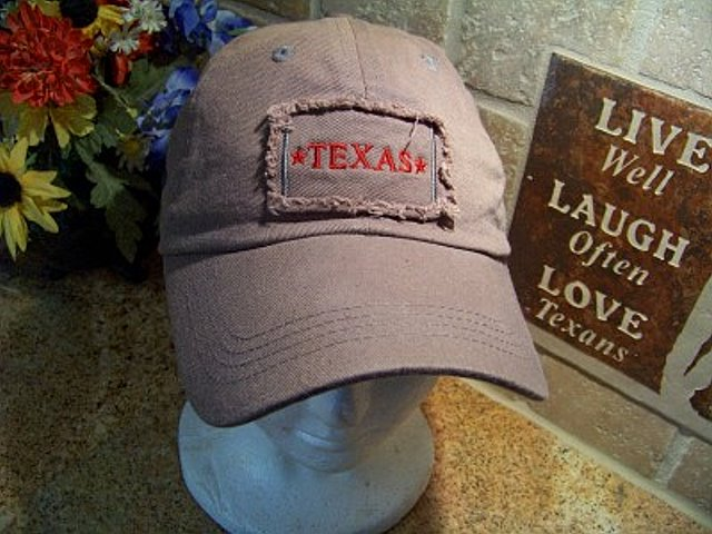 Texas Cap with Texas Patch