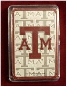 Texas Playing Cards - Texas A&M - ATM