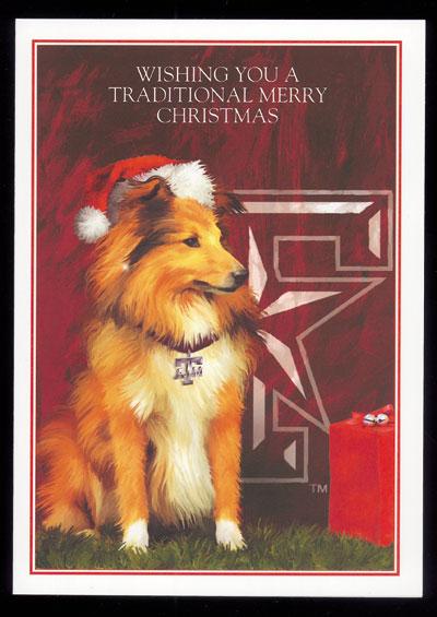 christmas cards texas ams reveille texas christmas cards