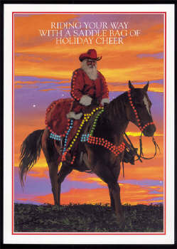 Christmas Cards-Riding Your Way...Texas Christmas Cards