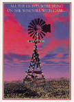 Christmas Cards-Texas Windmill with Lights