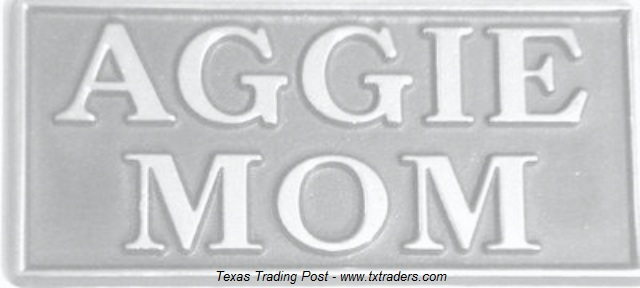 Car or Truck Emblem - Texas A&M - Aggie Mom