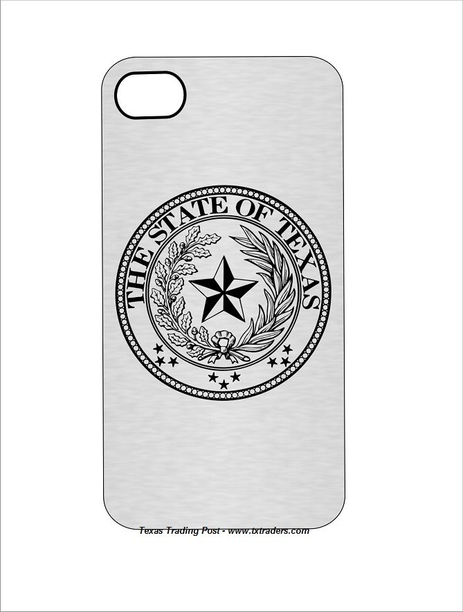Cell Phone Cover with the Texas State Seal-Fits iPhones