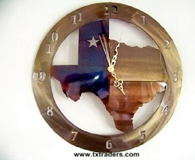 Texas Clocks