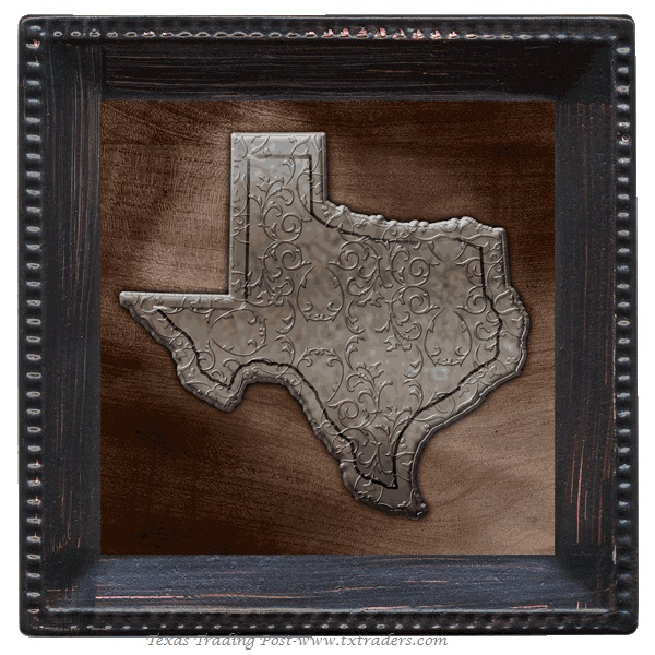 Coasters - Texas Size with the State of Texas