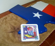 Coasters Boots and Texas
