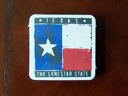 Coasters - Texas Flag & Lone Star State