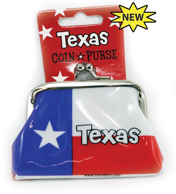 Texas Flag Coin Purse for your Texas Girl