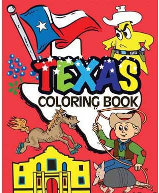 Texas Coloring Book for Texas Kids