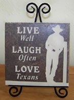 Living Well in Texas tile