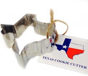 Texas Cookie Cutter -Nibble your way across Texas!