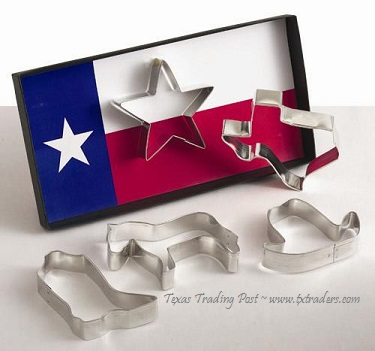 Texas Cookie Cutter Gift Set