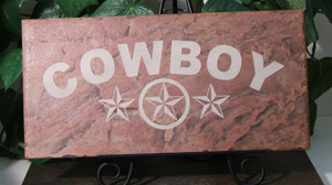 Cowboy - Texas Lone Star Tile