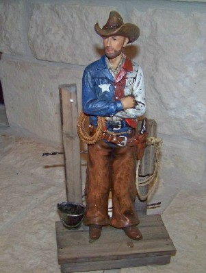 Texas Cowboy Sheriff - Texas Figurine