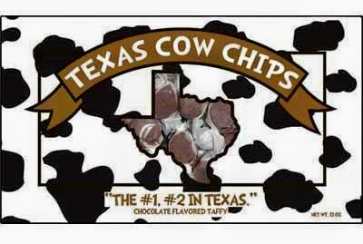 Texas Cow Chips - Chocolate Covered Taffy