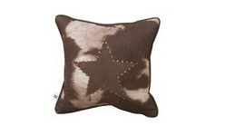 Faux Cowhide - Texas Pillow