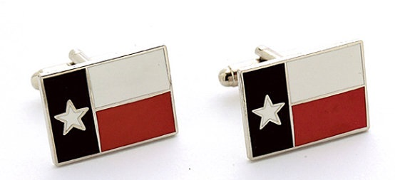 Cufflinks - Texas State Flag