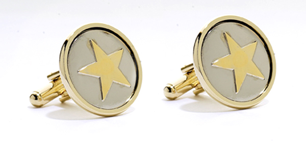 Cufflinks - Texas Ranger Star