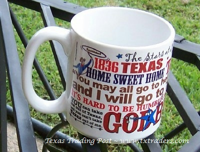 Texas Slogans Coffee Mug-20 oz