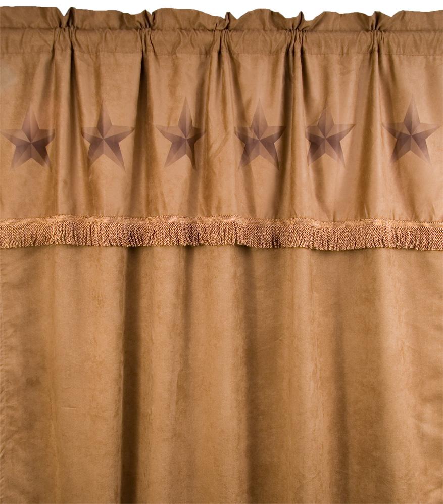 Western Star Curtain Window