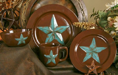 Dinnerware with the Texas Lone Star