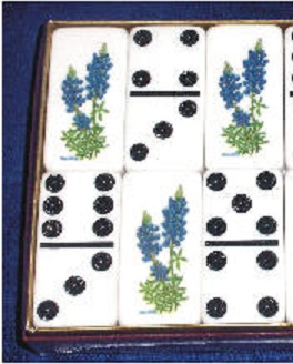Dominoes - Texas Bluebonnet by Puremco