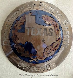 Sergeant -Texas DPS - Texas Metal Art