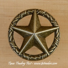 Drawer Pull with the Texas Lone Star