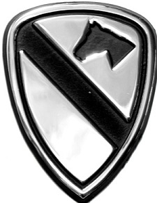 1st Cav Car and Truck Auto Emblem