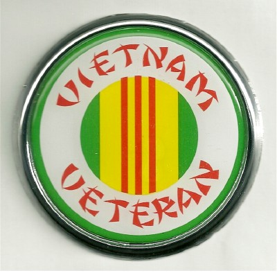 Car or Truck Auto Emblem - VietNam Veteran