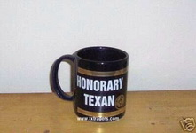 Honorary Texan Coffee Mug