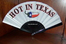 Folding Fan - Hot in Texas