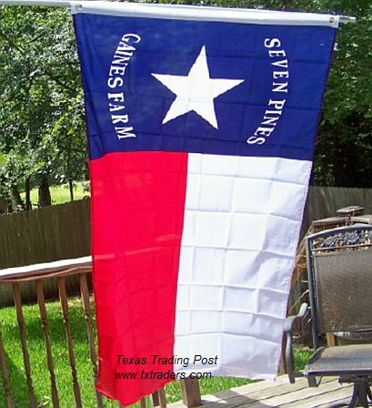 Battle Flag of Texas - Hood's Brigade - First Texas Infantry