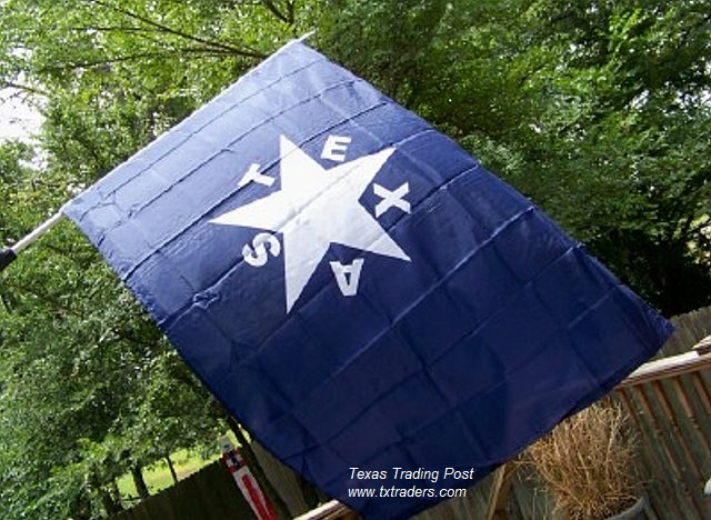 Battle Flag of Texas - First Republic 1836 - DeZavala