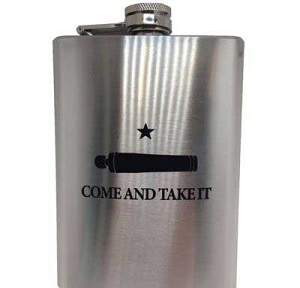 Come and Take It...Texas Hip Flask