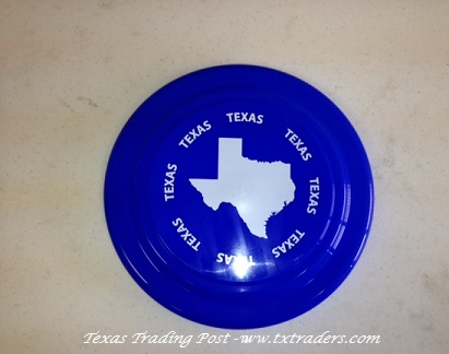 Frisbee - Map of Texas and Texas