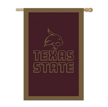 Garden Flag for Texas State Bobcats