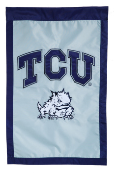 Garden Flag for TCU Horned Frogs