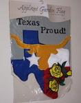 Garden Flag-Texas Longhorn & Roses