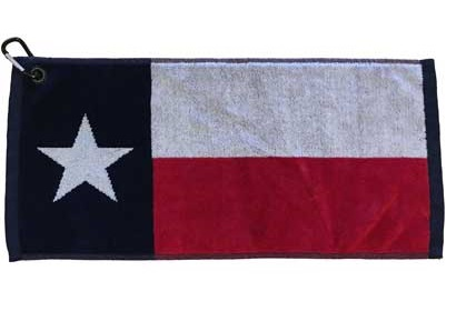 Texas Flag Golf Towel