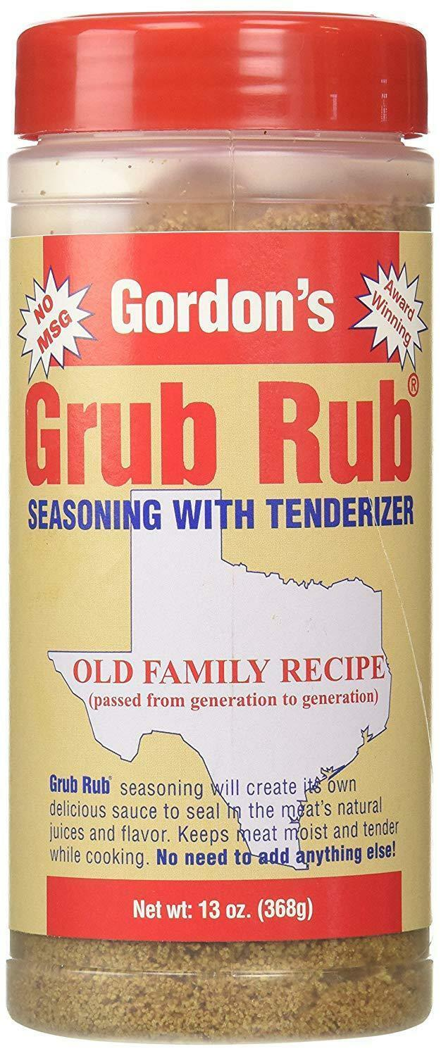 Grub Rub Seasoning - Texas' #1 Rub!